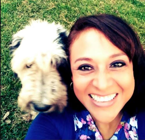Samantha era la mascota que siempre acompañaba a Carolina. (Foto: Facebook)