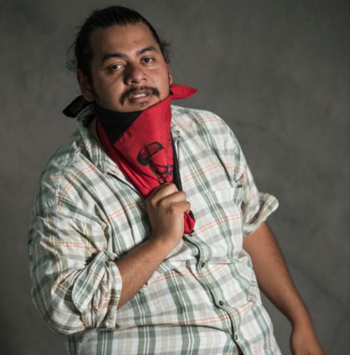 Alonzo, de 28 años, es estudiante de Ciencias Políticas en la Universidad de San Carlos. (Foto: Oliver de Ros/The New York Times)