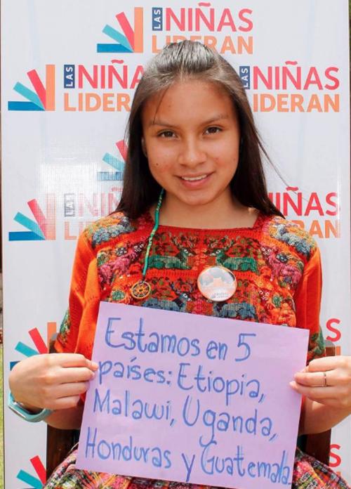 Ixchel trabaja actualmente con menores de La Esperanza, Quetzaltenango. (Foto: Facebook)