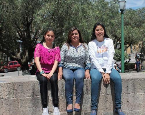 Las menores viajarán con el acompañamiento de la coordinadora de país de Las Niñas Lideran, Juany García. (Foto: Las Niñas Lideran)