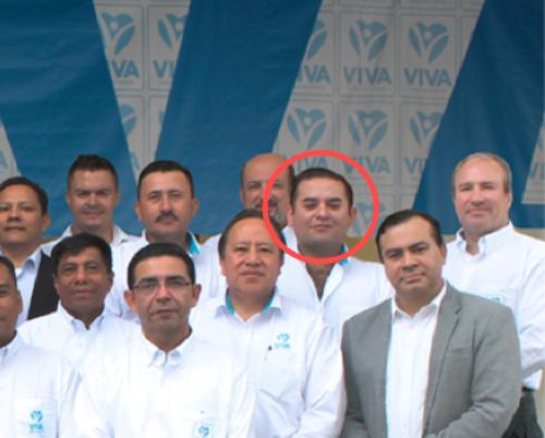 Jorge Carlos García Paiz se postuló como candidato a diputado por Alta Verapaz. (Foto: Facebook VIVA)