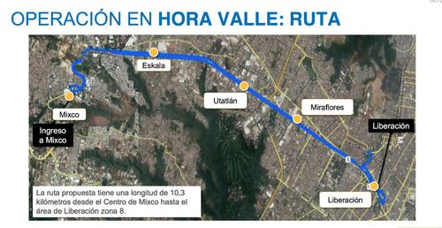 Estas serán las paradas en la denominada hora valle. (Foto: Facebook/Neto Bran)