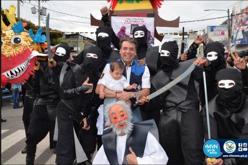 El desfile Fiero se hace todos los años. (Foto: Municipalidad de Villa Nueva)
