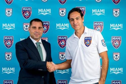 Alessandro Nesta, ex estrella del AC Milán y entrenador del Miami FC. (Foto: Miami FC)