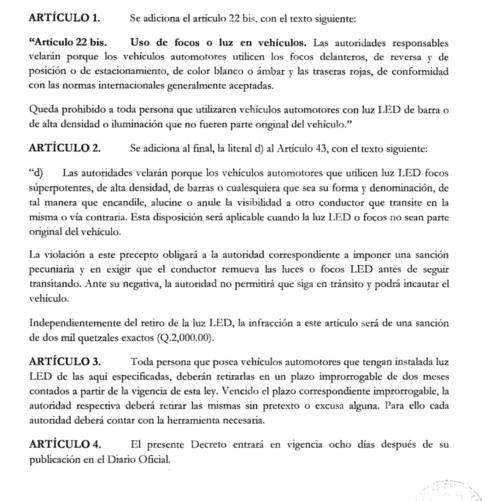 Estos son los cambios que propone el diputado José Hernández de UCN para sancionar a quienes utilicen barras LED en sus vehículos y afecten la visibilidad del resto de automovilistas principalmente por las noches.