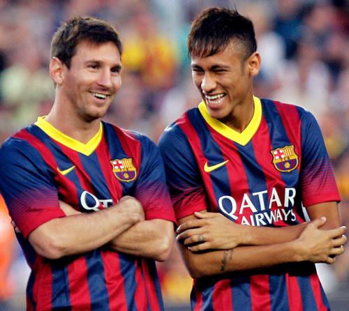 Ney y Leo son amigos desde que llegaron. (Foto: Sport.es)