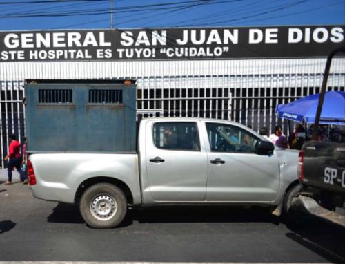 La fuga ocurrió cuando el reo era atendido por personal médico del hospital San Juan de Dios. (Foto: Archivo/Soy502)