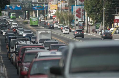 La medida busca agilizar el tránsito en la ciudad de Guatemala. (Foto: Archivo/Soy502)