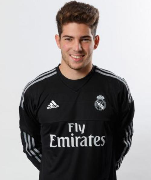 Luca Zidane, portero del Real Madrid juvenil.