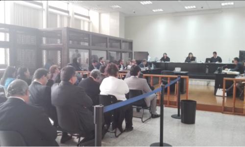 El debate oral por el caso IGSS-PiSA empezó el pasado 24 de octubre. (Foto: Archivo/Soy502)
