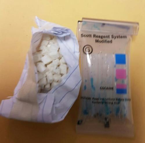 La Fiscalía confirmó el hallazgo de cocaína en la vivienda allanada. (Foto: MP)