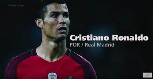 Cristiano Ronaldo es uno de los favoritos. (Imagen: captura de pantalla)