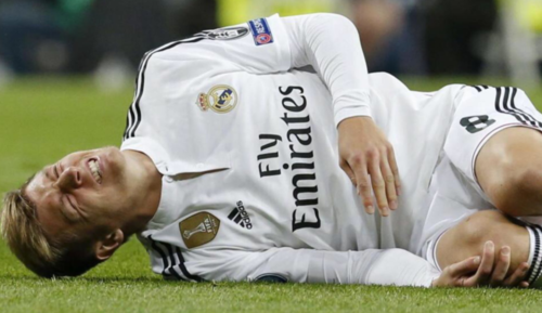 Kroos podría estar hasta tres meses de baja. (Foto: Twitter/Cope)