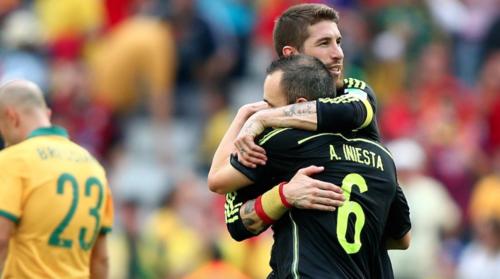 Sergio Ramos y Andrés Iniesta mantienen una buena relación. (Foto: As.com)