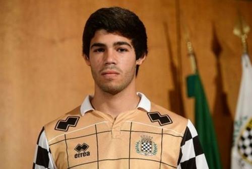 Edu Aguirre, el joven jugador del Boavista. (Foto: Boavista)