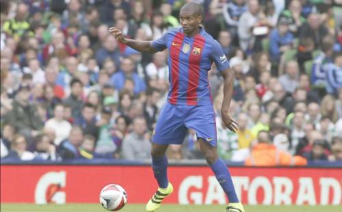 Marlon, en acción durante la pretemporada. (Foto: Sport.es)