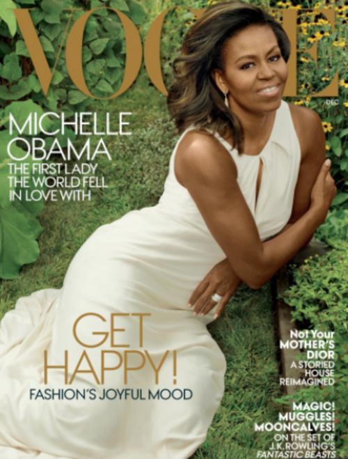 Michelle Obama protagonizó la portada de la última edición de la revista Vogue. (Foto: Vogue)