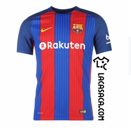 Así se vería el logo de la empresa japonesa en la camiseta del Barcelona.
