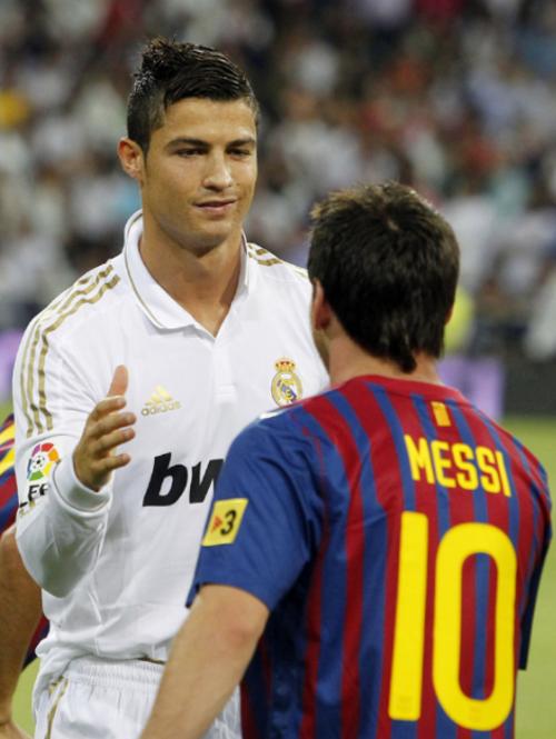 La relación entre Cristiano y Messi siempre ha sido cordial. (Foto: AS)