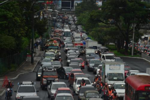 Las vías de ingreso a la ciudad de Guatemala son las más congestionadas, según autoridades. (Foto: Archivo/Soy502)