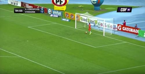 Ese momento en el que sabes que te metieron uno de los mejores goles del año... (Imagen: captura de pantalla)