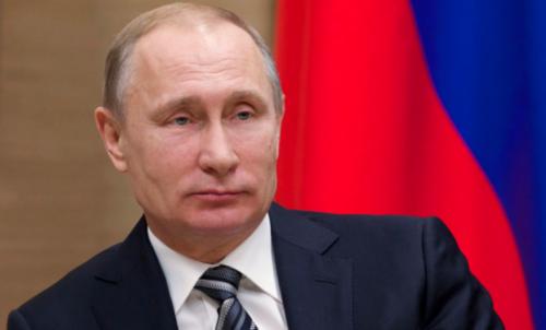 El presidente de Rusia, Vladímir Putin, es otra de as figuras en la proyección. (Foto: Reuters)