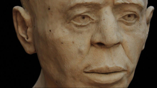 Así lucía el misterioso hombre de Jericó, según científicos británicos. (Foto: britishmuseum.org)