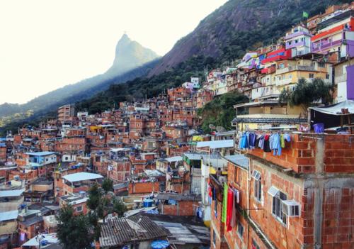 La favela de Santa Marta, a donde ingresaron los turistas sin querer. (Foto: Wikipedia)