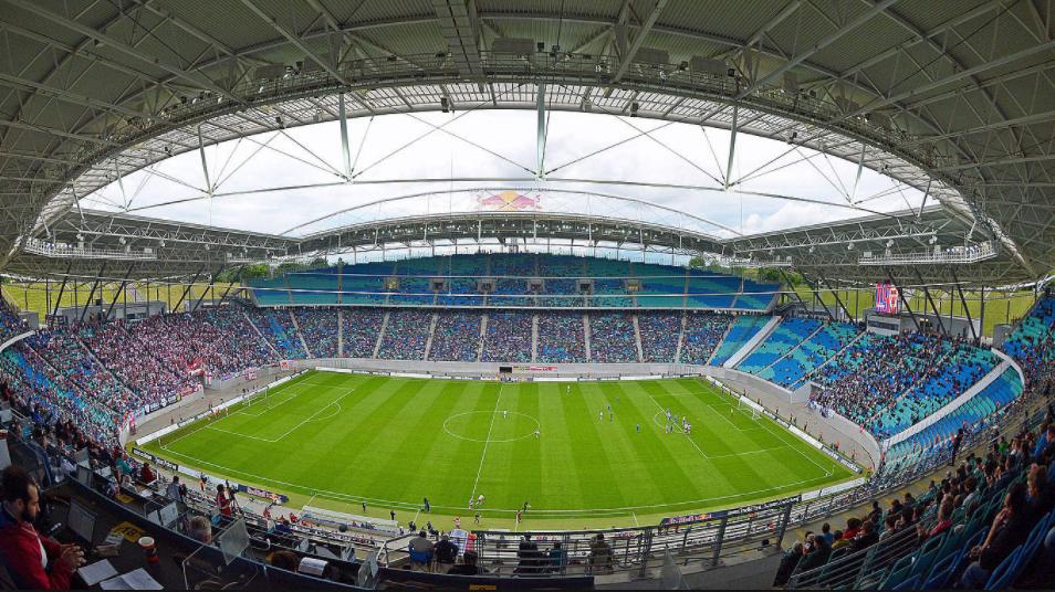 Vista interna del Red Bull Arena. (Foto: RB Leipzig)