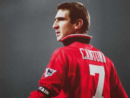 Eric Cantona, otro mítico 7 del Manchester United. (Foto: The Sport Bible)