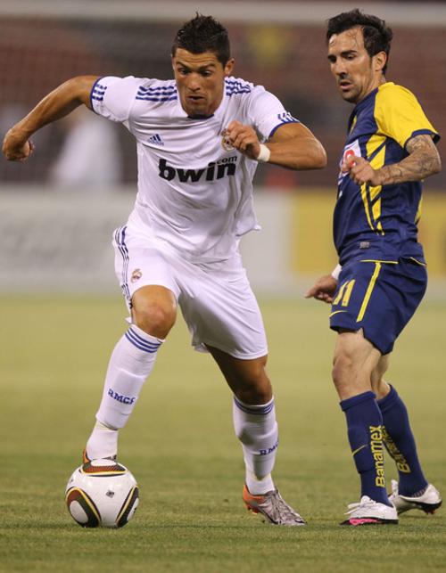 Cristiano, en acción aquella noche en San Francisco. (Foto: Real Madrid)