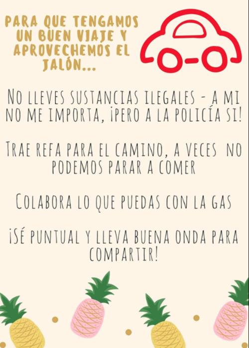 Recomendaciones para el uso de Guate Jalón.