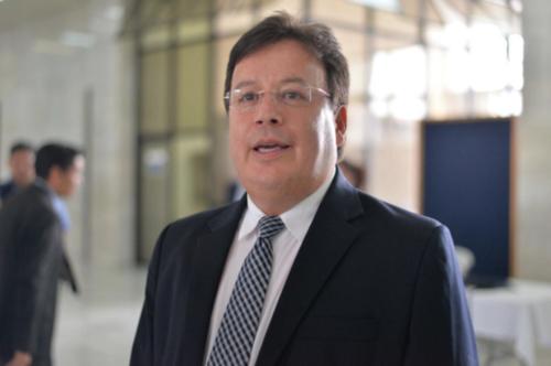 Aguilar, quien fungió como Procurador General de la Nación, es señalado de haber permitido el fraude en el caso Terminal de Contenedores Quetzal (TCQ).  (Foto: Archivo/Soy502)