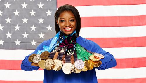 La atleta olímpica deslumbró en los juegos olímpicos. (Foto: NBC)