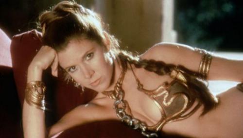 La princesa Leia en la cinta 'El regreso del Jedi' de la saga Star Wars. (Foto: CORBIS/El País)