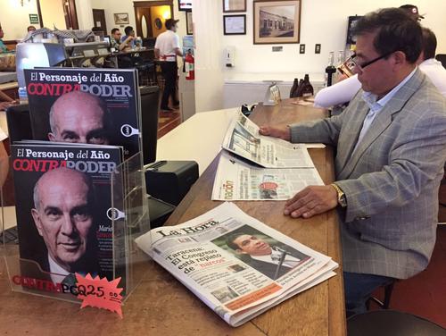 Las revistas no llegaron a los puntos de venta, donde solo hay ediciones pasadas. (Foto: Jesús Alfonso/Soy502)