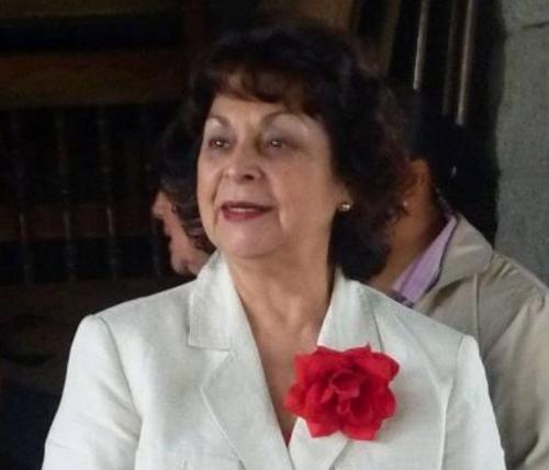 Raquel Blandón se postuló en 2011 como compañera de fórmula de Manuel Baldizón en las elecciones generales. (Foto: Facebook)