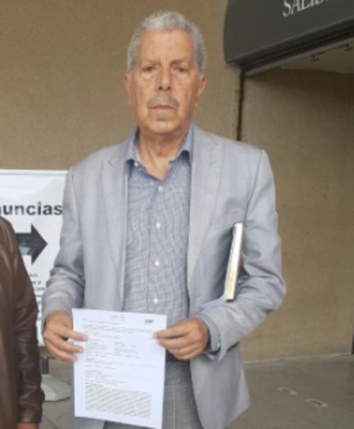 El presidente del Colegio de Abogados presenta denuncia contra Francisco García Gudiel. (Foto: Colegio de Abogados)