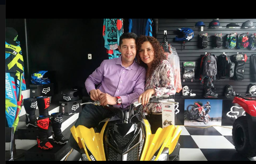 Ambos compartían la pasión de las motos. (Foto: Facebook/Axel Carranza)