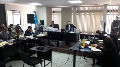 El pasado 10 de enero, el Juzgado de Mayor Riesgo C escuchó a los implicados en audiencia de primera declaración. (Foto: MP)