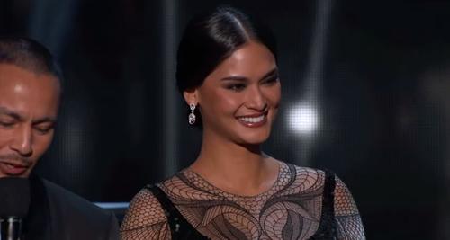 Pia Wurtzbach fue presentadora en la semifinal de Miss Universe. (Foto: captura de pantalla)