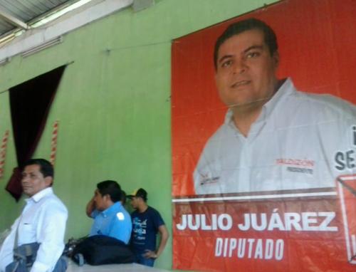 Además de candidato a diputado, Julio Juárez Ramírez era el secretario de Suchitepéquez del partido Lider. (Foto: Facebook)