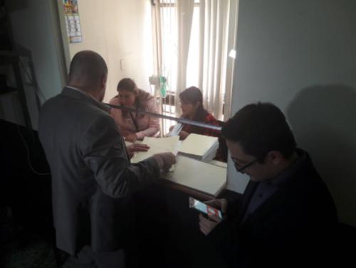 La FECI presentó el 26 de enero de 2017 la solicitud de antejuico contra el diputado de FCN, Julio Júarez. (Foto: Javier Lainfiesta/Soy502)