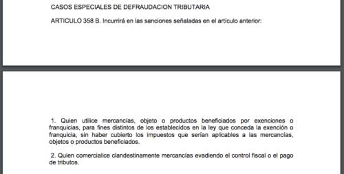 El inciso 2 del artículo 358B del Código Penal fue el que la jueza aplicó para Abdy Estrada.