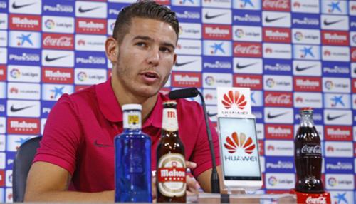 El jugador Lucas Hernández fue puesto a disposición de las autoridades. (Foto: Atlético de Madrid)
