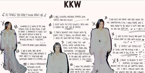 Estas son las revelaciones que hizo Kim Kardashian en su página oficial. (Foto: captura de pantalla)