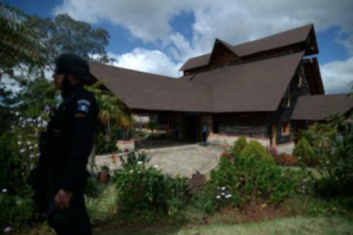 En la finca de Otto Pérez ubicada en Zaragoza, Chimaltenango, ahora funciona la Academia de guardias del Sistema Penitenciario. (Foto: Archivo/Soy502)