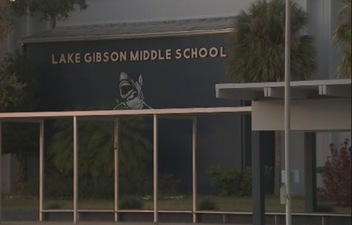 Ambas víctimas trabajaban en la Lake Gibson Middle School. (Foto: Fox13)