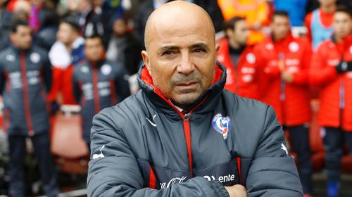 Jorge Sampaoli, actual entrenador del Sevilla, es otro de los candidatos fuertes para dirigir al Barcelona.