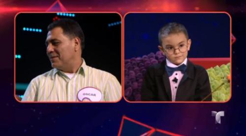 Óscar Rojas, padre del pequeño que fue entrevistado en el programa Siempre Niños de Telemundo, reveló que su hijo sueña con ser parte de la NASA. (Foto: Infobae)